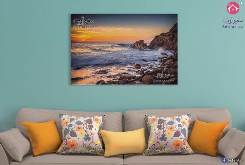 Sea-and-sunset