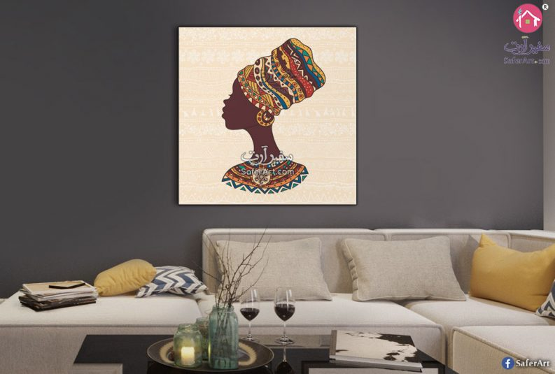 تابلوهات مودرن افريقية