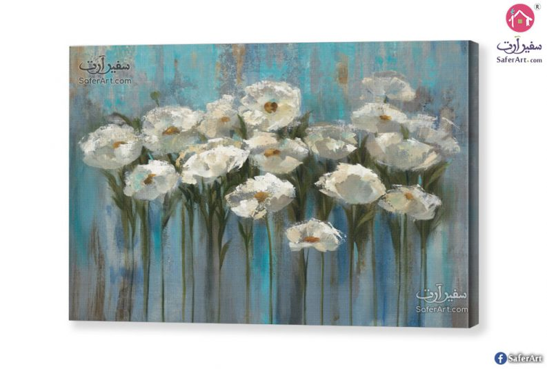 white-flowers-art