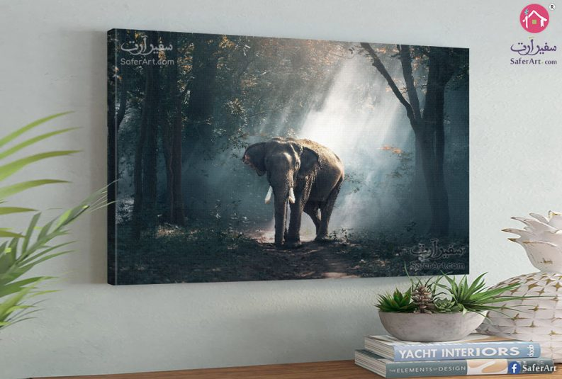 elephant-wall-art