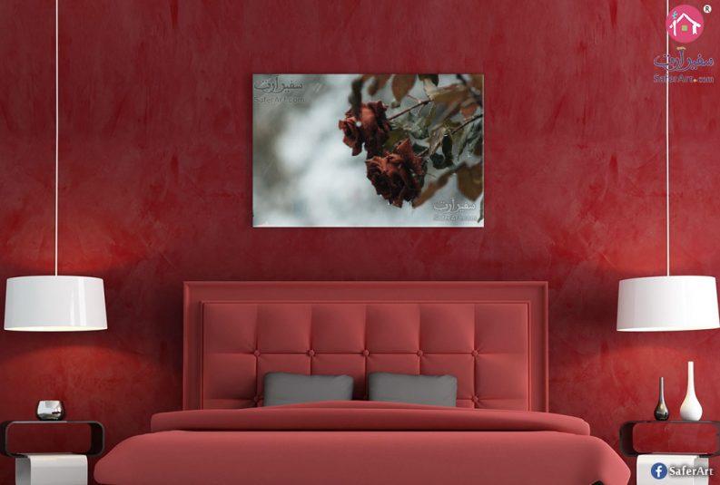 red-flower-canvas