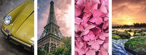 تابلوهات مودرن من الصور الفوتوغرافية