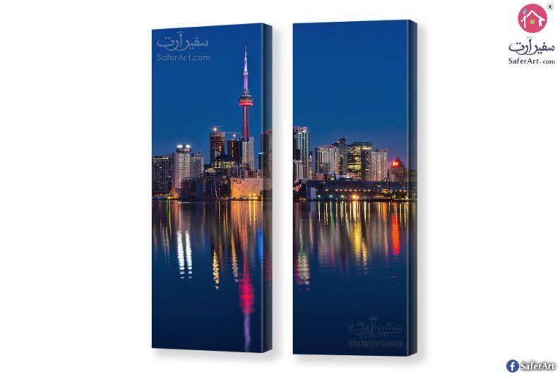 تابلوه مدن ومبانى كندا