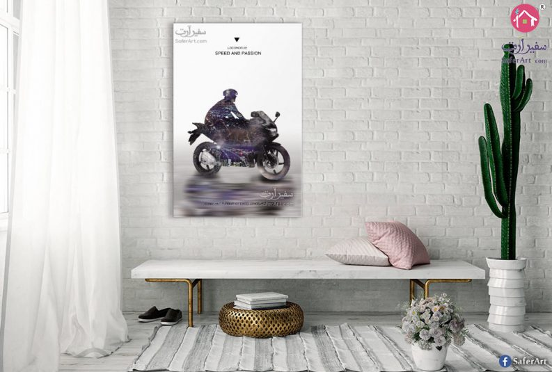 Motorcycle-wall-art