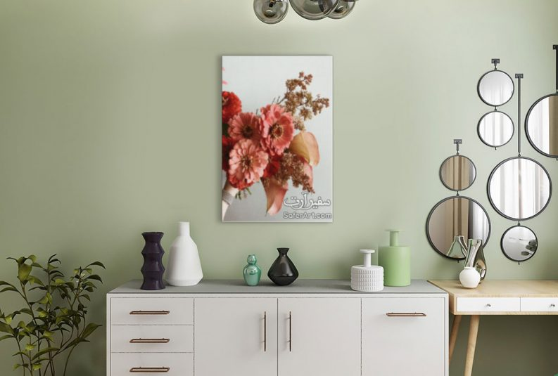 لوحه حائط زهور