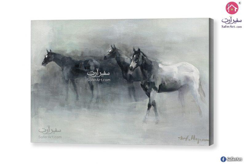 تابلوه مودرن – خيول