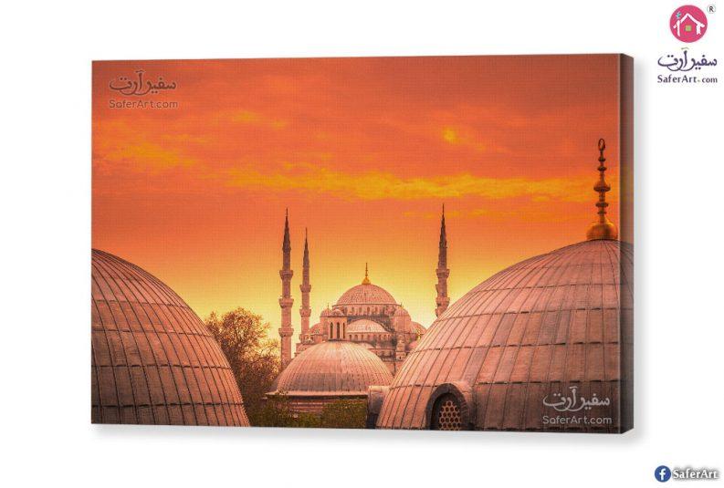 لوحه فنيه جامع في إسطنبول