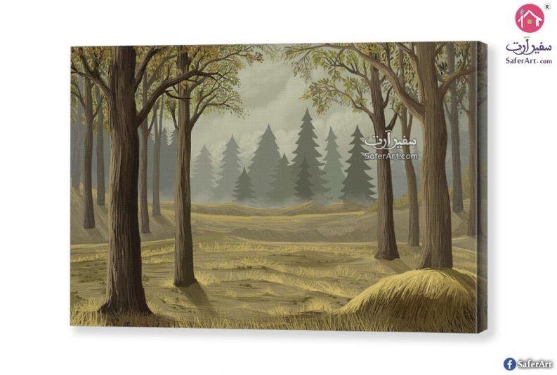 تابلوه – غابات واشجار