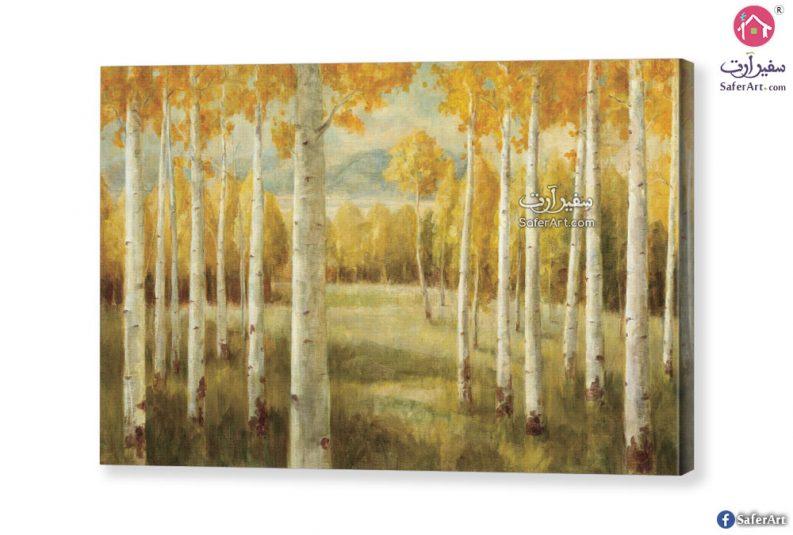 تابلوه – اشجار صفراء