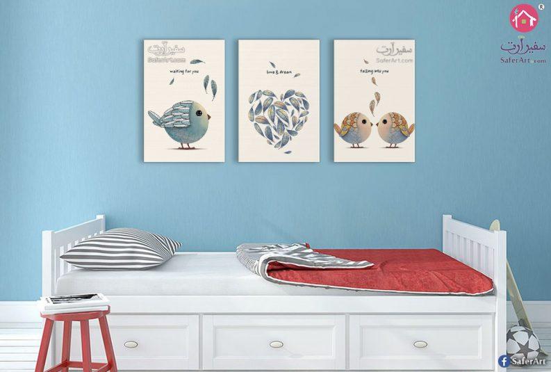 لوحات حائط لغرف الاطفال