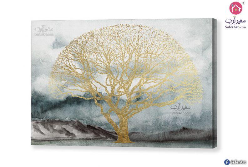 Golden-tree-canvas