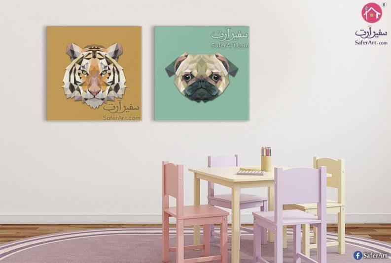 لوحات حائط حيوانات