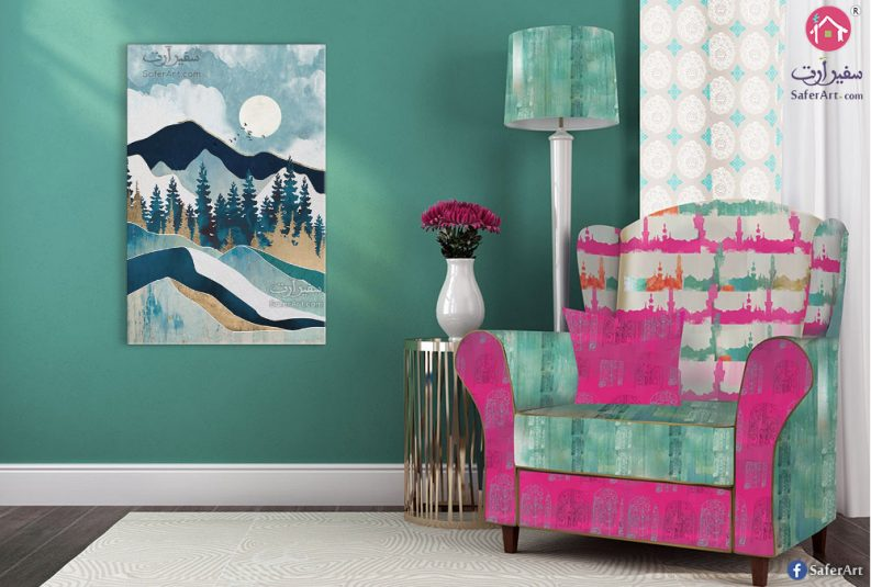 Mountain-Wall-Painting