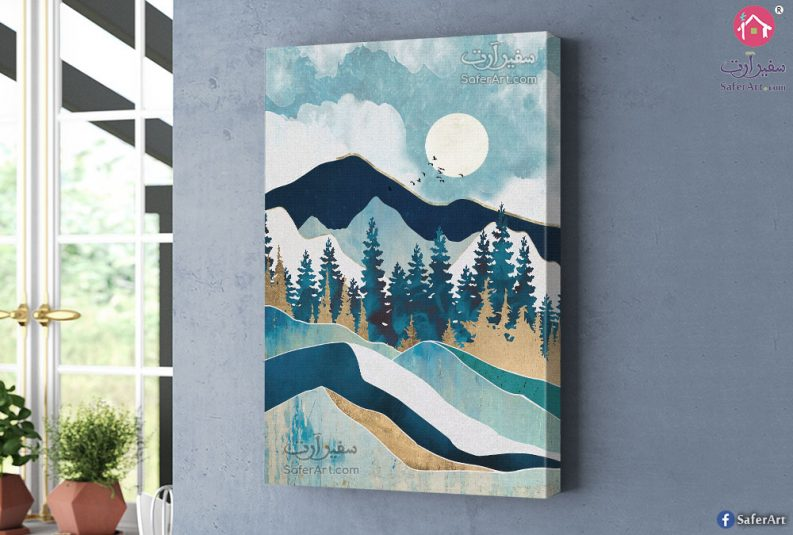 Mountain-art-canvas