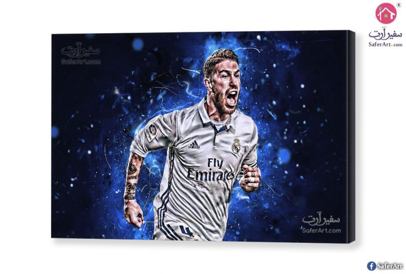 Sergio-Ramos-wall-art