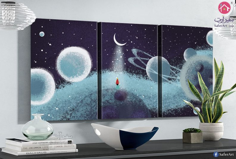 Space-scientist-wall-art