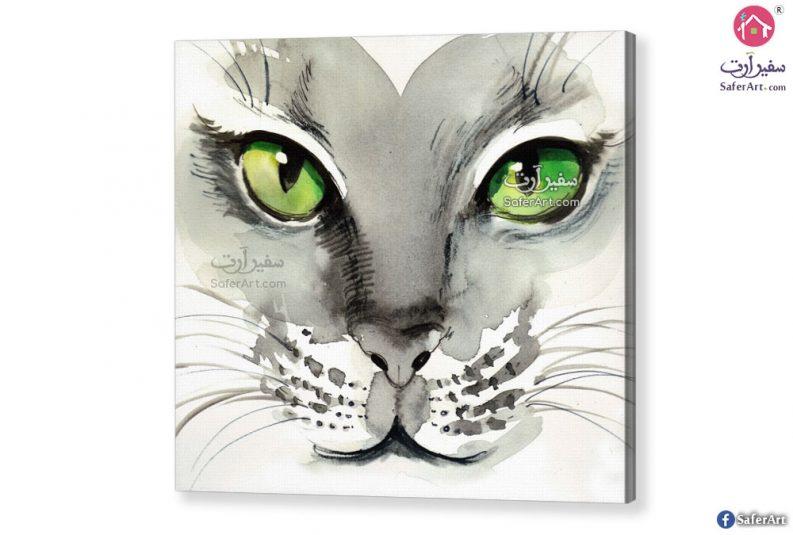 لوحه حائط – قطه