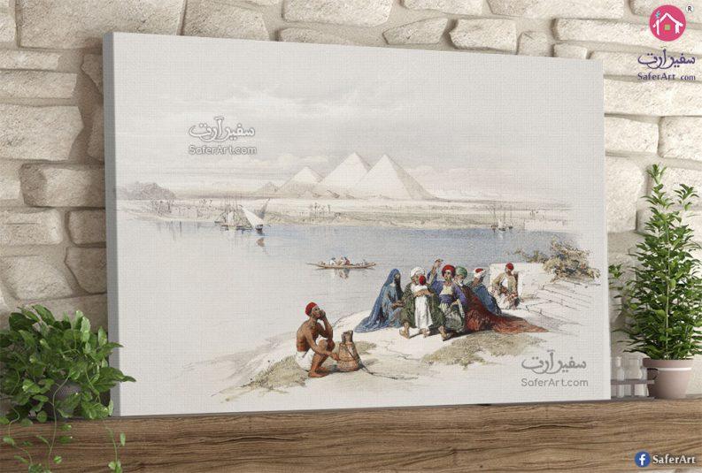 تابلوه مودرن مصر القديمه
