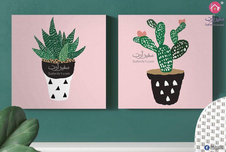 Plant-pot-wall-art