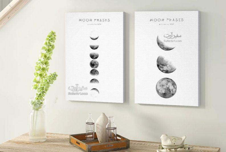 لوحات حائط القمر