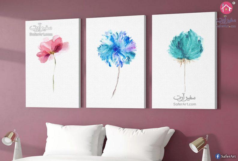 تابلوهات مودرن زهور