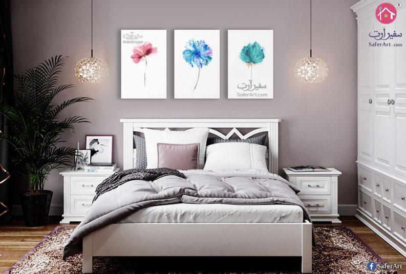 لوحات حائط زهور
