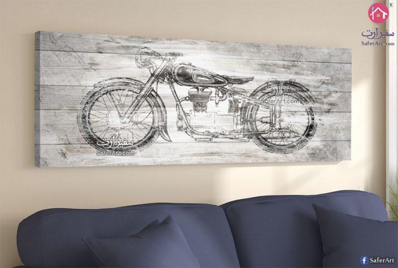 تابلوه دراجة لغرف الشباب