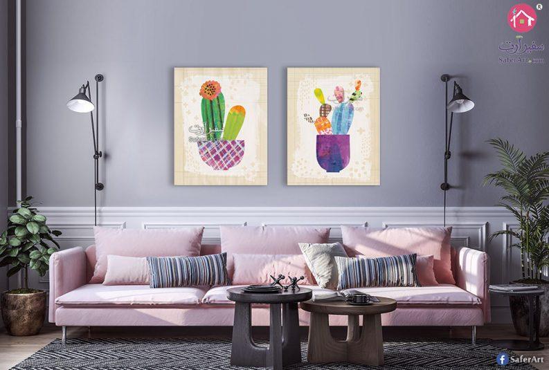 لوحات نباتات