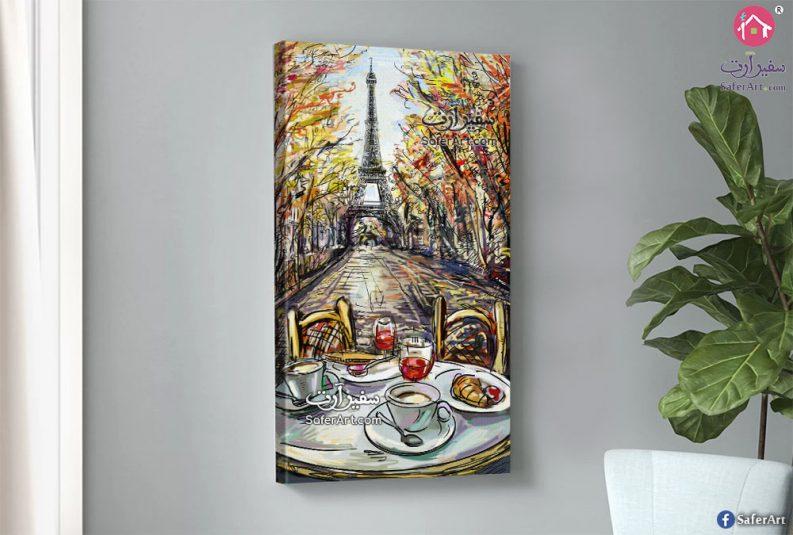 تابلوه لاحد شوارع باريس
