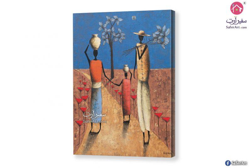 تابلوه الفن الأفريقي
