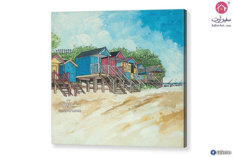 لوحة فنية شواطئ ومصايف