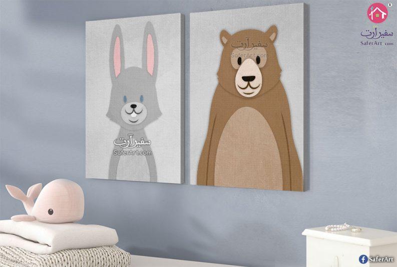 لوححة فنية لغرف الأطفال