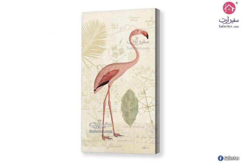 لوحة لطائر الفلامنجو