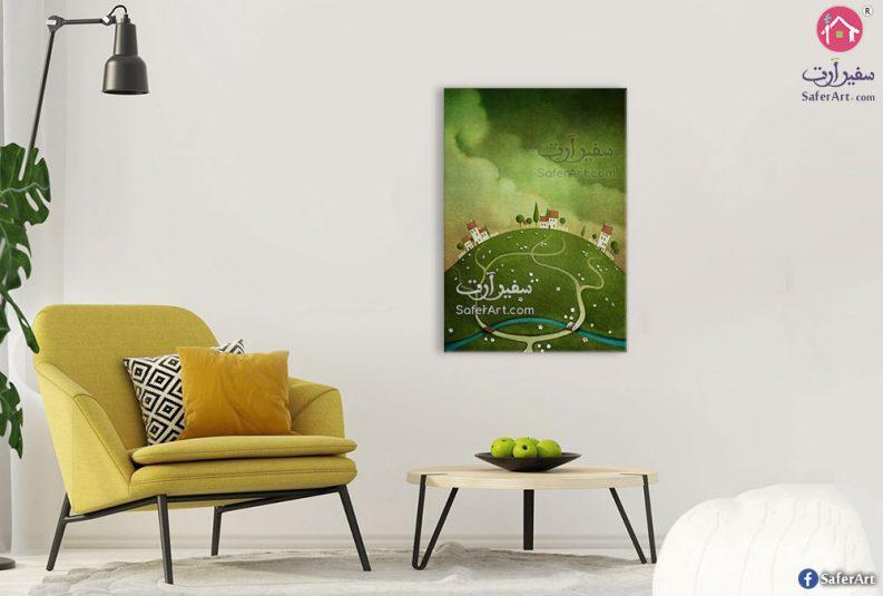 لوحات تل اخضر