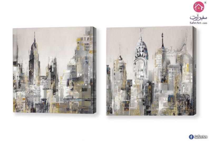 لوحة مباني نيويورك