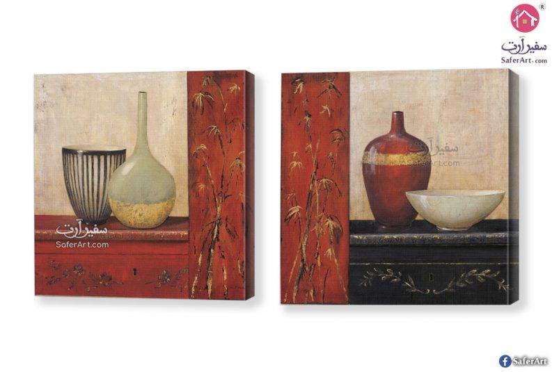 لوحة فنية صناعات فخارية