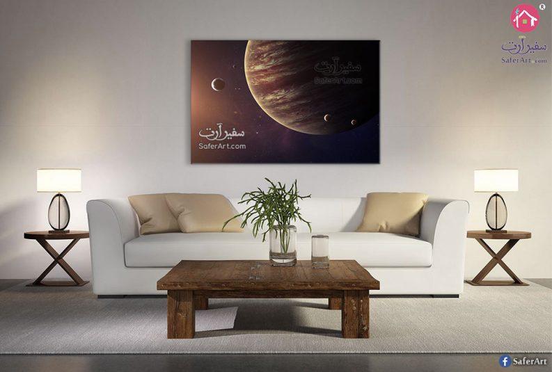 تابلوه مودرن كوكاب وفضاء