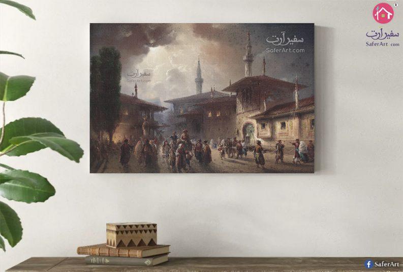 لوحه حائط مصر القديمه
