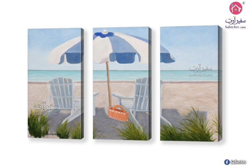 لوحات شواطئ وبحار