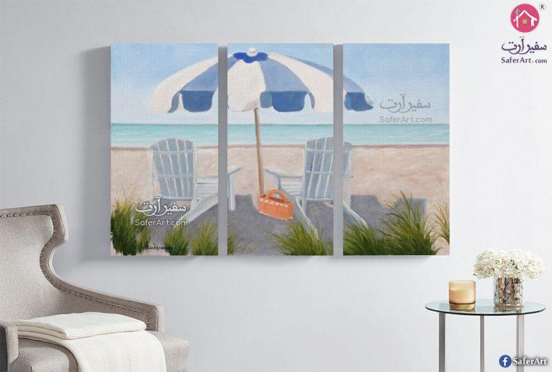 لوحة شواطئ وبحار