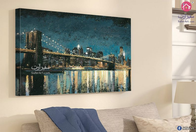 لوحات أضواء المدينة
