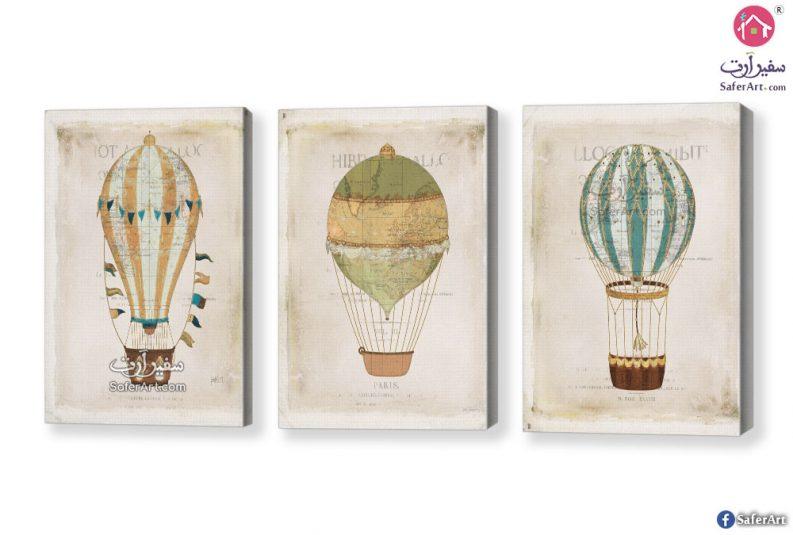 لوحات بالونات هوائية