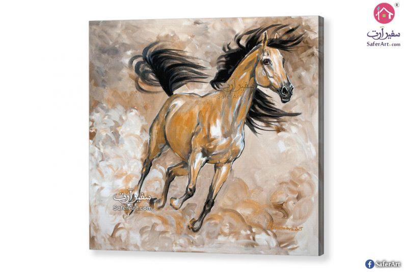 لوحات مودرن خيول