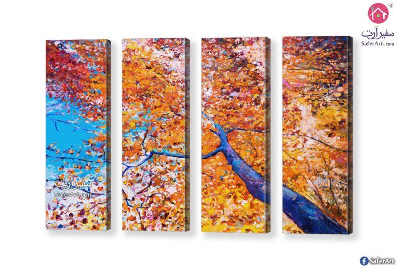 لوحة فنية الخريف