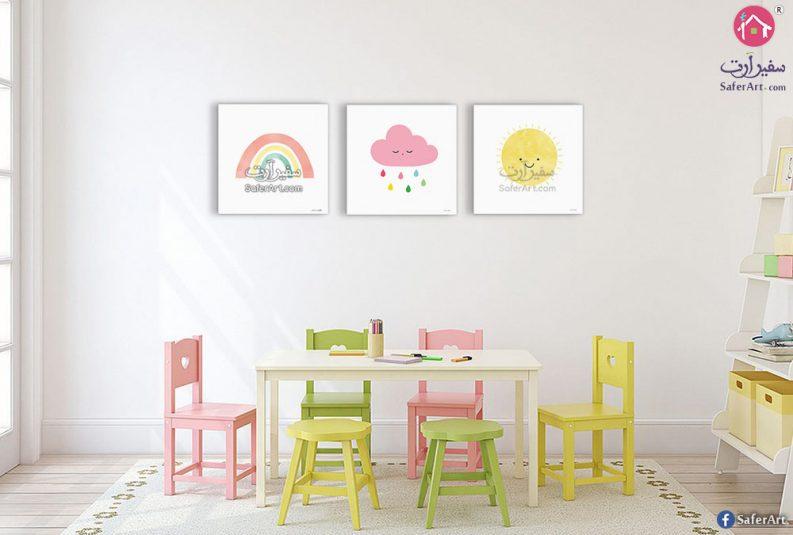 لوحات لغرف الأطفال