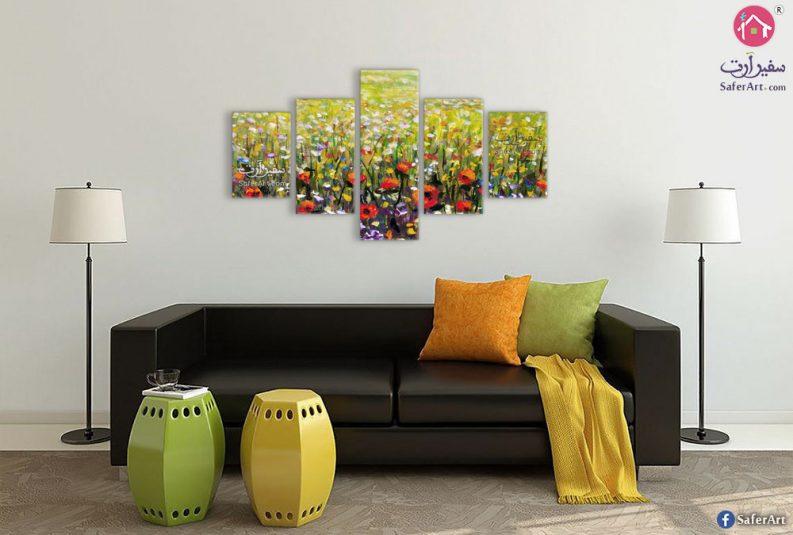 لوحات زهور