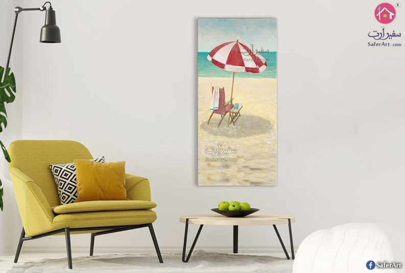 لوحة مودرن شواطئ