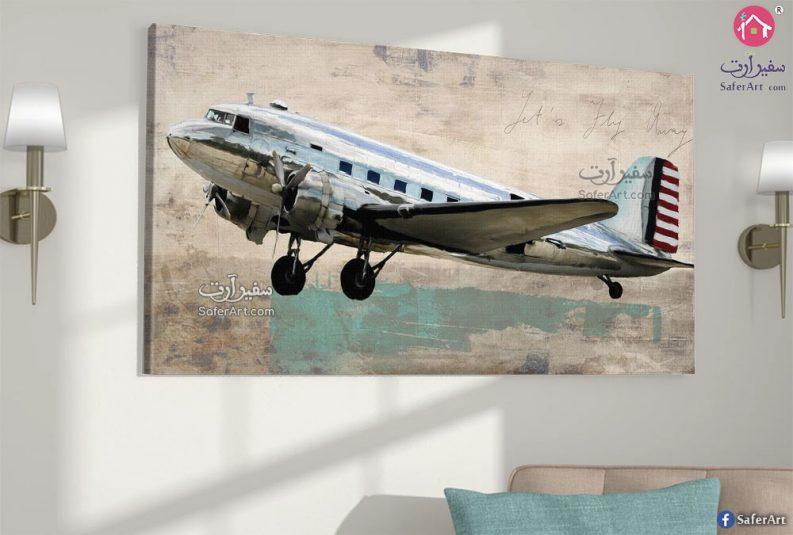 لوحات طائرة