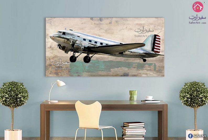 تابلوهات مودرن طائرة