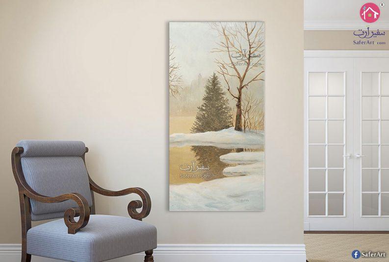 لوحات فصل الشتاء